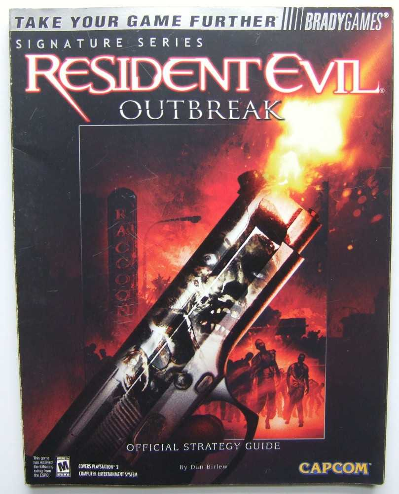 Image for Resident Evil Outbreak Official Strategy Guide