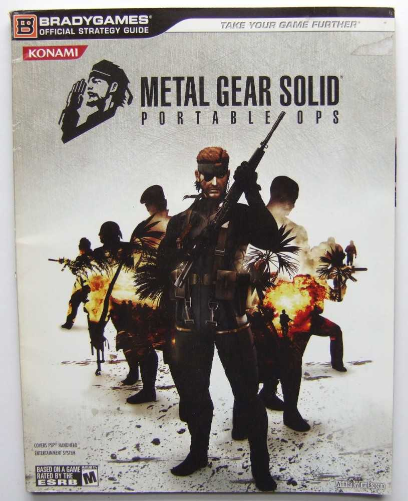Image for Metal Gear Solid: Portable Ops Official Strategy Guide