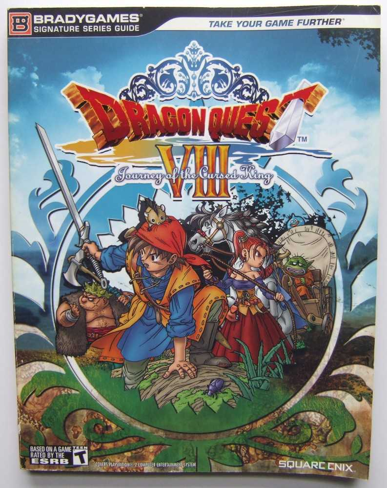 Image for Dragon Quest VIII: Journey of the Cursed King (Bradygames Signature Series Guides)