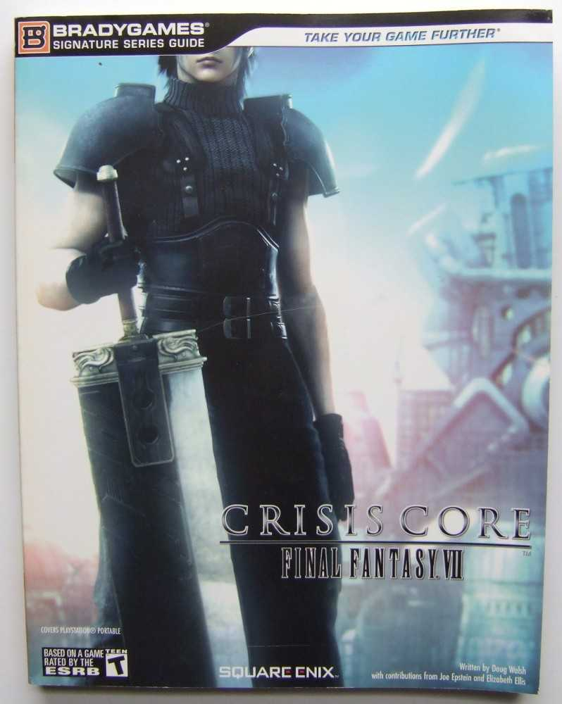 Image for Crisis Core: Final Fantasy VII (Signature Series Guide)