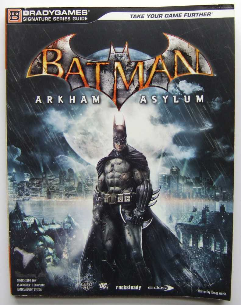 Image for Batman: Arkham Asylum Signature Series Guide