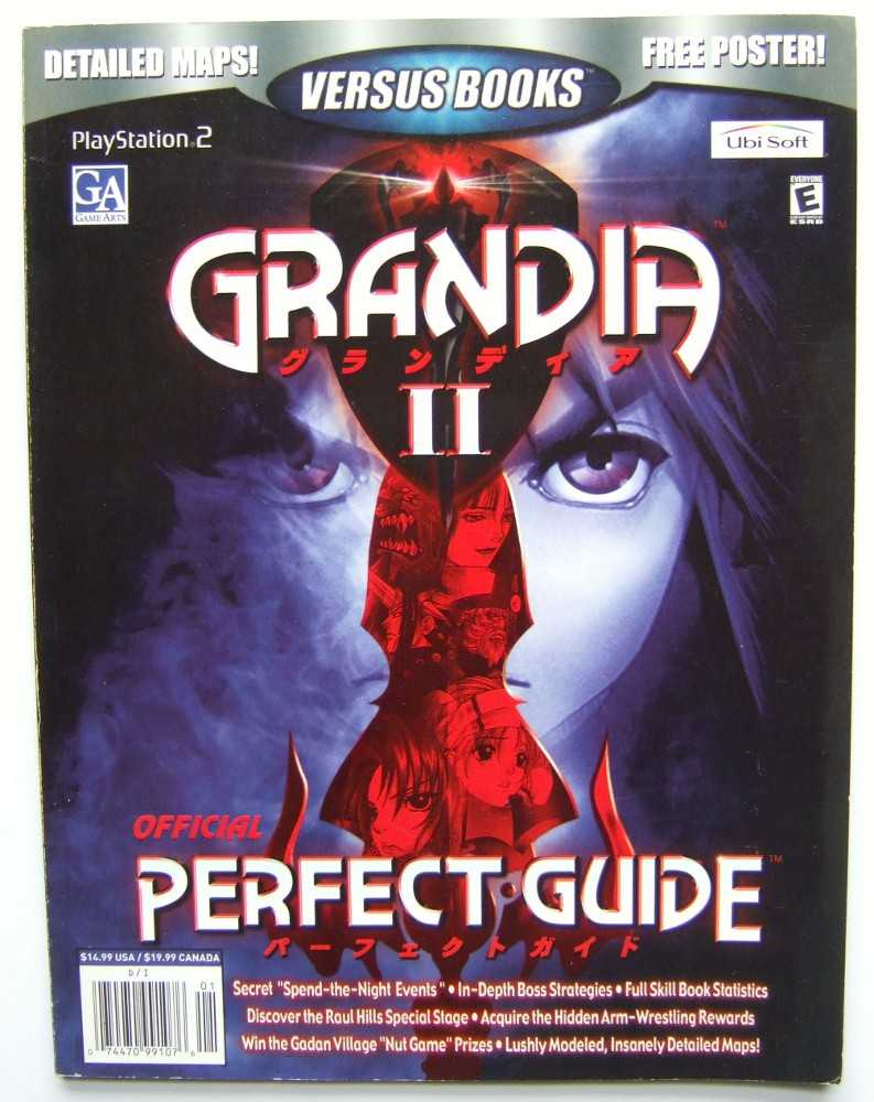 Image for Grandia II Official Strategy Guide (Versus Books)