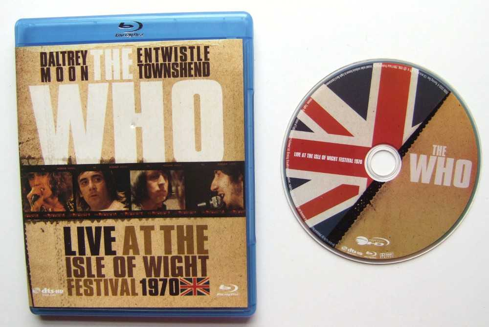 Image for The Who: Live At The Isle Of Wight Festival 1970 [Blu-ray]