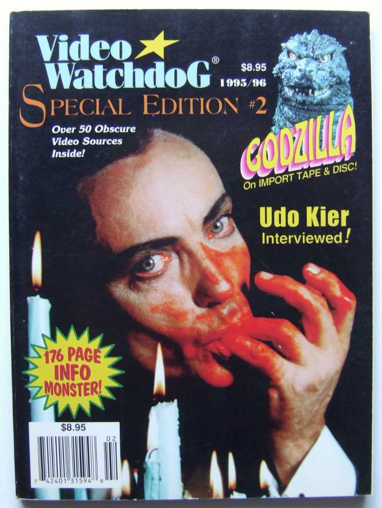 Image for Video Watchdog, Special Edition #2 (1995 / 1996)