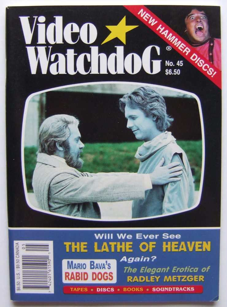 Image for Video Watchdog #45 (May-June, 1998)
