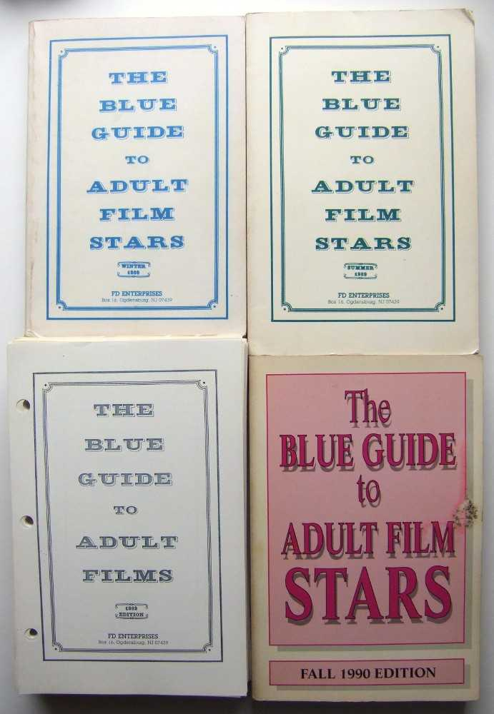 Image for The Blue Guide to Adult Film Stars (Winter 1989, Summer 1989, Fall 1990); The Blue Guide to Adult Films