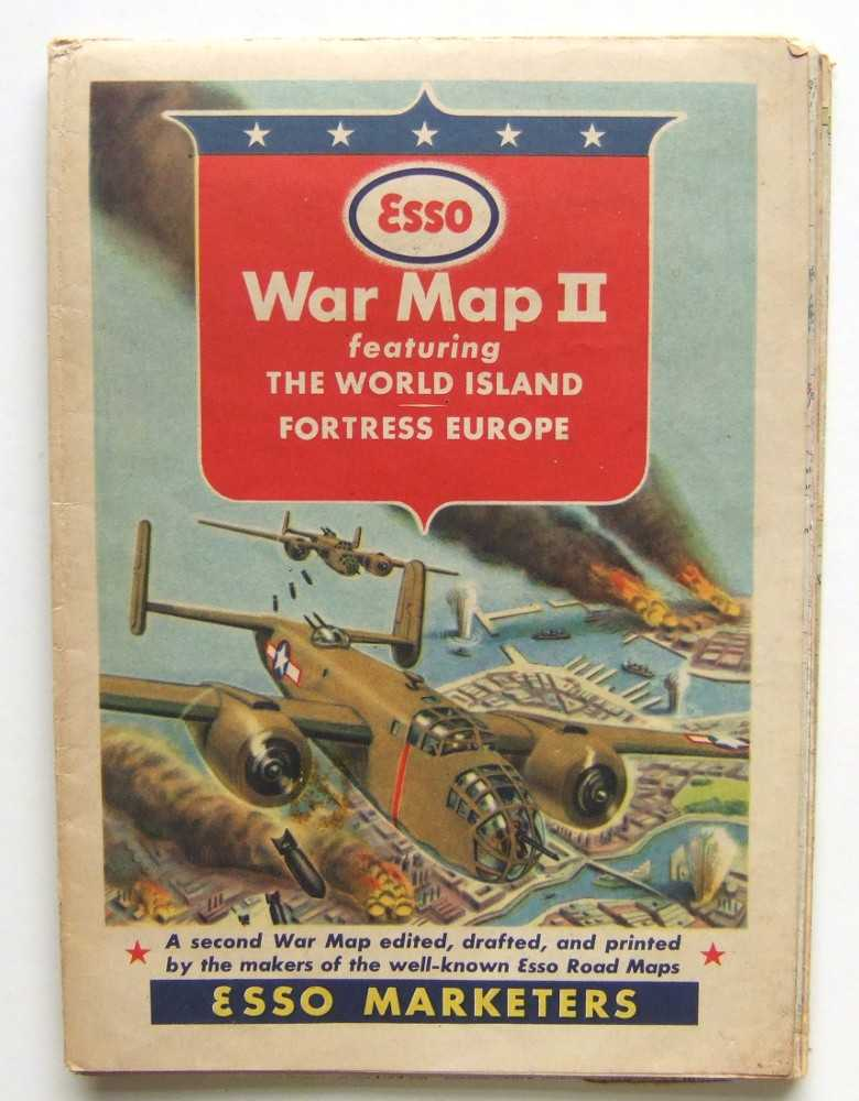 Image for Esso War Map II: Featuring The World Island; Fortress Europe