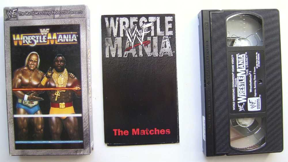 Image for WWF (WWE) Wrestlemania I [VHS]
