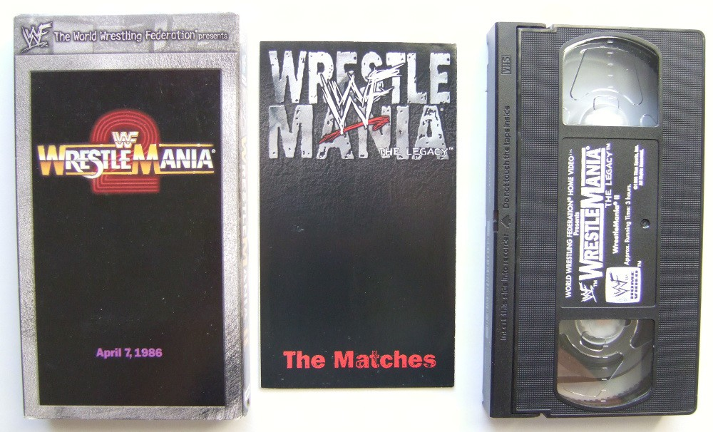 Image for WWF (WWE) Wrestlemania 2 [VHS]