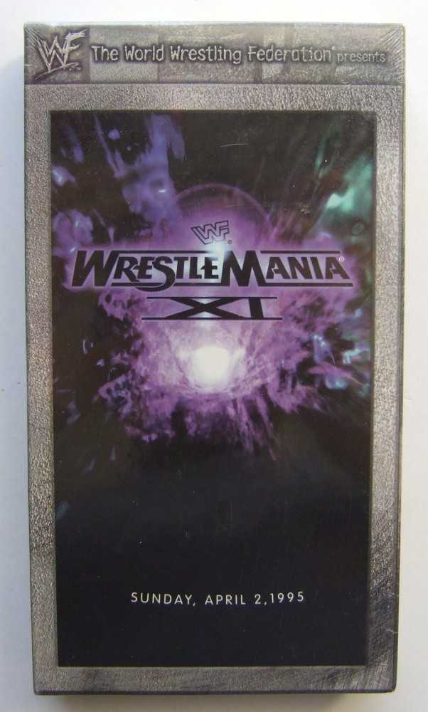 Image for WWF (WWE) Wrestlemania XI [VHS]