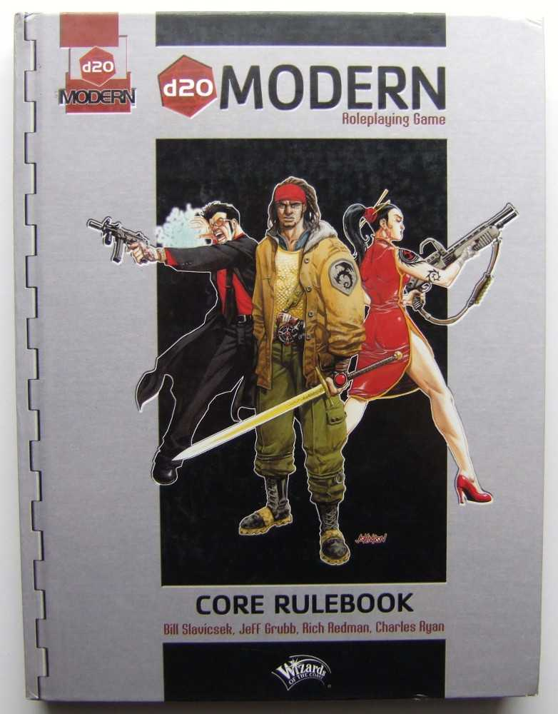 Image for d20 Modern Roleplaying Game: Core Rulebook